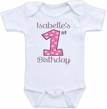 First Birthday Personalized Cute Baby Onesie Funny Onsie Unique Shower Gift
