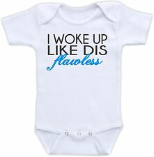 I Woke Up Like Dis Flawless Cute Baby Onesie Funny Onsie Cool Unique Shower Gift