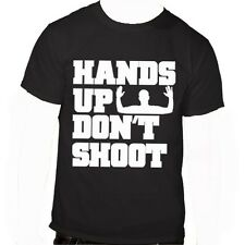 Mike Brown Hands Up Don't Shoot T-shirt; Support Ferguson