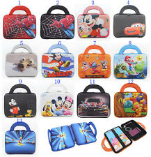 Cute Cartoon Sleeve Pouch Hand Bag Carry Case For Samsung Galaxy Tab 3 Kids 7.0""