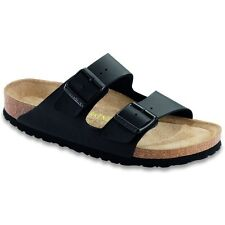 Birkenstock Arizona Sandals Soft Footbed  - Color Black - Birko-Flor