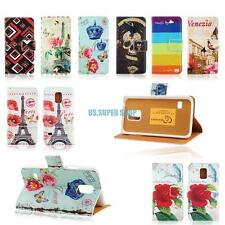 Flip Stand Wallet PU Leather Card Holder Case Cover For Samsung Galaxy S5 Mini
