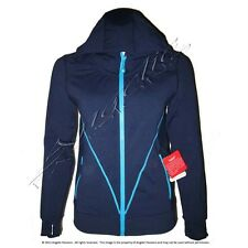 Ivivva By Lululemon NWT Girls/Youth Size 8 or 10 Booster Jacket Hoodie Navy