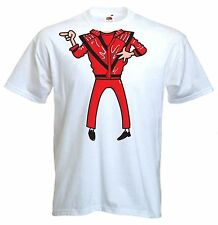 MICHAEL JACKSON T-SHIRT - Fancy Dress Outfit Costume Funny Jackson 5 Thriller