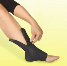 Zipper Ankle Compression Sleeve Zip Up Sock Fits Like Ankle Genie - 1 Sleeve