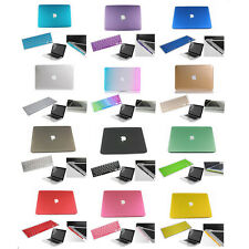 "4in1/ 13 Colors Rubberized Hard Case Cover For New Macbook Air 13""/11"" Cut-OUT"