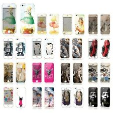 SKINNY SKIN Illust Cell Phone Smart Phone Cover Skin Sticker for iPhone 5s