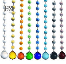 1Meter Crystal DIY Beads Chain Chandelier Curtain Parts Wedding Hanging Decor
