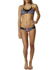 New Womens Volcom Electric Ladyland Halter Bikini Ladies Bikini Swimwear
