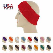 Ear Warmer Winter Head Band Fleece Knit Ski Ear Muff Stretch Spandex Unisex NEW