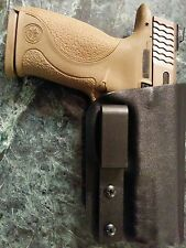 S&W M&P CUSTOM IWB TUCKABLE Kydex Holster M&P Fullsize 9/40 Concealment CCW