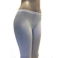 Leg Avenue 7666 Tights Opaque Solid Lycra Blend One Size Regular Ivory