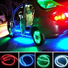 Flexible Waterproof Car Decorative Light Lamp Strip 12V 24/48/72/96/120CM LEDS