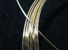 14k GOLD FILLED ROUND WIRE ~ 24 GAUGE 100% RECYCLED PRECIOUS METAL 1, 5, 20 FT