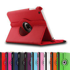 Brand New 360° Rotate Stand Smart PU Leather Case Cover for Apple the iPad 4 3 2