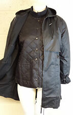 WOMENS WATERPROOF PLUS SIZE WAX COAT & QUILTED JACKET 16 18 20 22 24 26 28 30 32