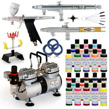 Complete Cake Decorating Airbrush Supplies Kit System Set