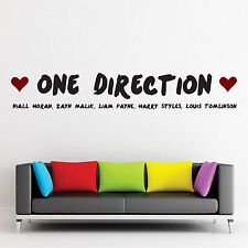 1D, Wall Sticker, Q25