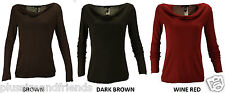 MANGO Womens Ladies 3 Colours Cowl Neck Knitwear Sweater Jumper Pull Over 8 - 14