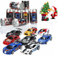 Coke Can Mini 1:58 RC Radio Remote Control Micro Racing Car Toy Vehicle Kid Gift