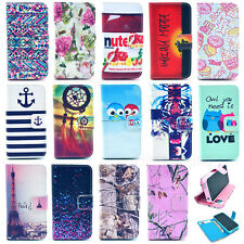 Gel Wallet Card Holder Flip Leather Case Silicone Stand Cover Case Cell Phone