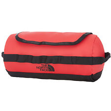 The North Face Base Camp Travel Canister Toiletry Bag Red Wash Tnf Black