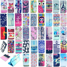 """New Card Holder Wallet Flip Leather Cover Silicone Case Pocket for 4.7"""" iPhone 6"""