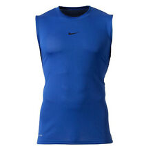Official Nike Workout Tank Sleeveless Dri-Fit Adult Royal Blue 2XL T-Shirt BNWT