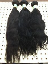 100%Virgin Peruvian Ocean Wave Human Hair Weave Extension Unprocessed bundle100g