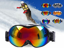 New Winter Sports Dual Lens Ski Snowboard Goggles Snowmobile Eye Wear Glasses