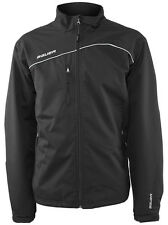 Bauer Hockey Team Midweight Jacket - Warm Up Jacket - Black/Silver
