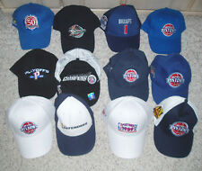 NEW~Detroit Pistons Basketball Baseball Hat Caps~SGA~Choice of 12