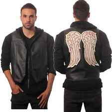 Walking Dead Daryl Dixon Vest Faux Leather Wing Governor Angel AMC Adult New