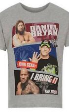 WWE Superstars ~ John Cena, The Rock, Daniel Bryan T-Shirt ~ Sizes 3 to 13 Years