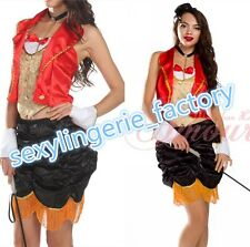 Womens Fashion Old-Fashioned Magician Girl Adult Costume Dresses Halloween@v3237