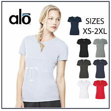 Alo Sport Womens Crossfit Moisture Wick Ladies Size S-2XL dri-fit T-Shirts w1009