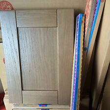 Howdens Tewksbury Dark Oak Kitchen Cupboard Door Drawer fronts Burford/Shaker