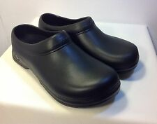 Black Skechers Men's Work Scrub Ups Clogs Oswald - Balder Non-Slip Sole