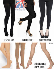 Women's Sexy Opaque Pantyhose Stretch 80 Denier Long Stockings Tights 6-12 S007