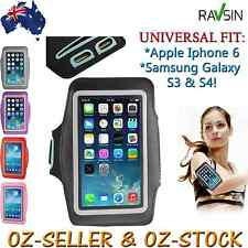 Apple Iphone 6 Sports Armband Gym Jog Universal Galaxy S3 & S4 Brand New