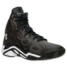 Under Armour 1248856-001: UA Micro G Anatomix Spawn 2 BLACK Basketball Shoes MEN