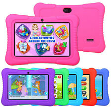 """2016 New version 7"""" Google Android Tablet 16GB Bundle Case for Kids Gift Game US"""