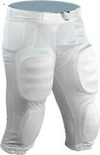 NEW**Stromgren 7 Pad Integrated ADULT/YOUTH SEE DESCRIPTION Football Pants WHITE