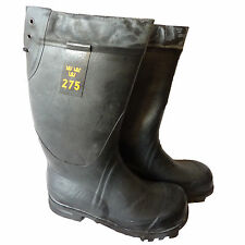 NEW Swedish Army Ice Station Waterproof Coldweather Boots HAND MADE SIZE 6/260