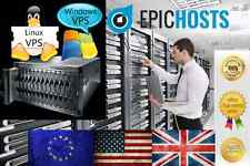 Windows VPS 1GB RAM 75GB HDD PC Virtual Private Server Dedicated VDS 2008 7 +