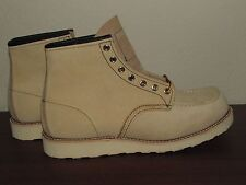 Red Wing 8173 Heritage USA 8 9.5E 11 Sand Tan Boot suede Abeline NEW