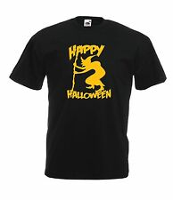 HALLOWEEN WITCH fancy dress party costume pumpkin gift ghost mens womens TSHIRT