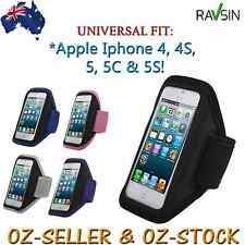 Apple Iphone 5 5S 5C Iphone 4/4S Universal Armband Gym Jog Brand New