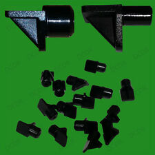 20x 5mm or 8mm Push In Black Plastic Shelf Support Pegs Studs, Kitchen Cabinets