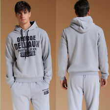 Hot Men Casual TrackSuit Sports Activewear Sweats Hoodies Suit Athletic Apparel